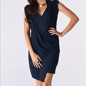 Miilla Drape Dress - DARK NAVY